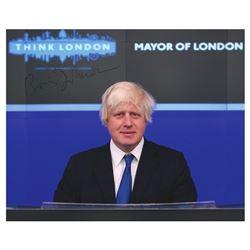Boris Johnson Signed Photograph