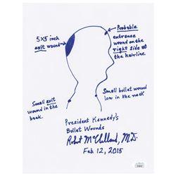 Kennedy Assassination: Dr. Robert McClelland Signed Sketch