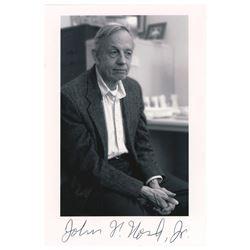 John Nash Signed Photograph