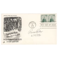 Rosa Parks Signed First Day Cover
