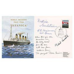 Titanic Survivors Signed Commemorative Cover