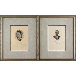Duke and Duchess of Windsor Signatures