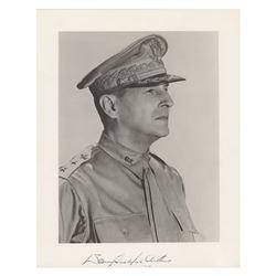 Douglas MacArthur Signed Photograph