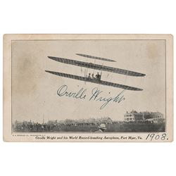 Orville Wright Signed Photograph
