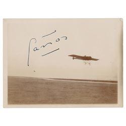 Roland Garros Signed Photograph