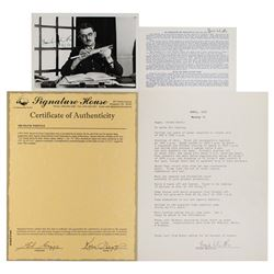 Frank Whittle (3) Signed Items
