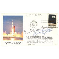 Apollo 12: Bean and Gordon Signed Cover