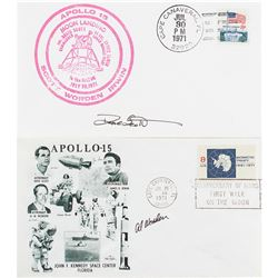 Apollo 15: Scott and Worden Signed Covers