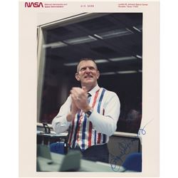 Gene Kranz Signed Photograph and Cover