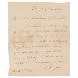 Samuel Rogers Autograph Letter Signed