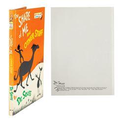 Dr. Seuss Signed Book