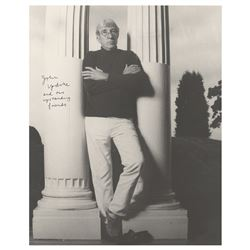 John Updike Signed Photograph