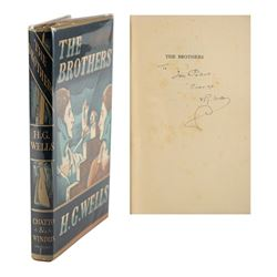 H. G. Wells Signed Book