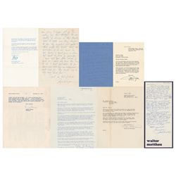 Michael Curtiz: Collection of (23) Letters Remembering the Casablanca Director