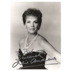 Julie Andrews Signed Photograph
