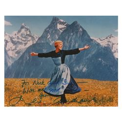Julie Andrews Signature and Signed Photograph