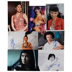 Asian Actresses (7) Signed Photographs