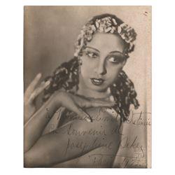 Josephine Baker Signed Photograph