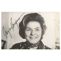 Ingrid Bergman Signature and Signed Photograph