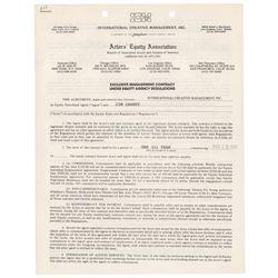 Jim Carrey Document Signed