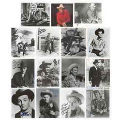 Cowboy Actors (15) Signed Photographs