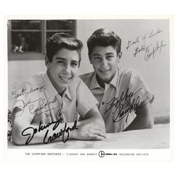 Johnny and Bobby Crawford Signed Photograph