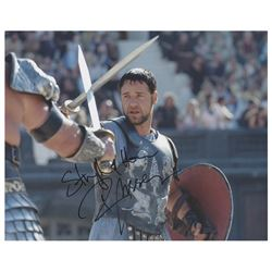 Russell Crowe Signed Photograph