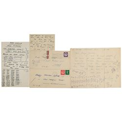Peter Cushing Autograph Letters Signed