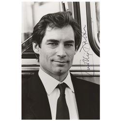 Timothy Dalton Signed Photograph