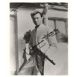 Laurence Harvey Signed Photograph