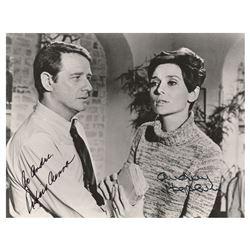 Audrey Hepburn and Richard Crenna Signed Photograph