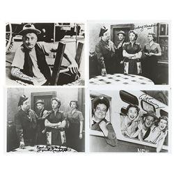 The Honeymooners (4) Signed Photographs