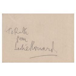Leslie Howard Signature