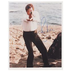 Roger Moore Signed Photograph
