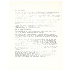 Barbara O'Neil Typed Letter Signed