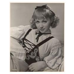 Lilli Palmer Signed Photograph