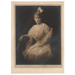 Lillian Russell Signed Photograph