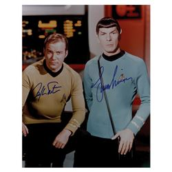 Star Trek: Shatner and Nimoy Signed Photograph