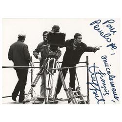 Francois Truffaut Signed Photograph
