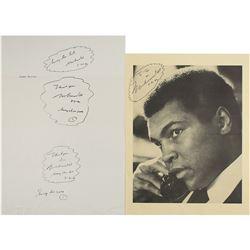 Muhammad Ali (4) Signed Items