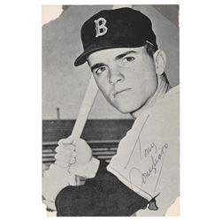 Tony Conigliaro Signed Photograph