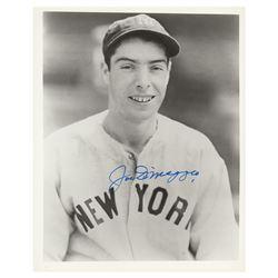 Joe DiMaggio (2) Signed Photographs