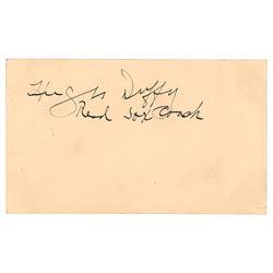 Hugh Duffy Signature
