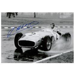 Juan Manuel Fangio Signed Photograph