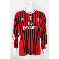 Zlatan Ibrahimovic Game-Worn A.C. Milan Jersey