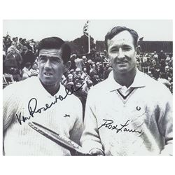 Rod Laver and Ken Rosewall Signed Photograph