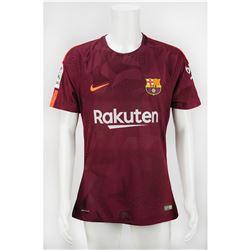 Lionel Messi Game-Worn FC Barcelona Jersey