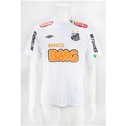 Neymar Game-Worn Santos FC Jersey