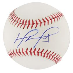 David Ortiz Signed Baseball