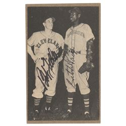 Satchel Paige and Bob Feller Signed Photograph